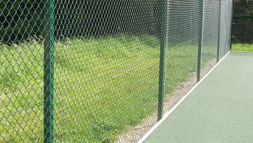 Angle Iron Tennis Court Fencing
